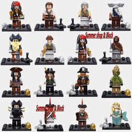 Wholesale Minifigures Pirates Building Blocks Model Bricks Toys Hot selling Kids Intelligence Toys Chiristmas gift party toys