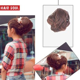 Wholesale Soul wig roll hepburn high temperature wire thickening horseshoers button m007