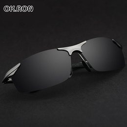 Wholesale HD Aluminum Magnesium Brand Designer Polarized Sunglasses Mens Driving Glasses Sports sun Glasses Summer Goggles Eyewear Accessories