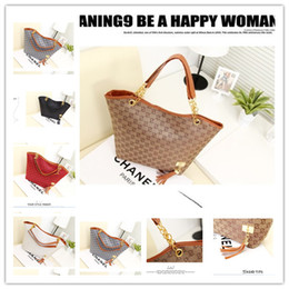 Wholesale Brand New Fashion Vintage Tassel Women Handbag High Quality Canvas Chain Tote Shoulder Bags Casual Bags Banquet package