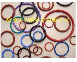 Wholesale High temperature silicone O rings non toxic sealing ring wire diameter MM outside diameter