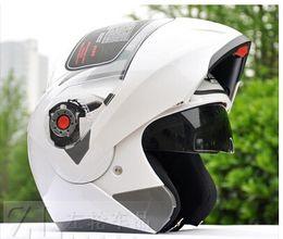 Wholesale JIEKAI upscale double lens QuanKui qiu dong jie face helmet run motorcycle helmet helmet qualit