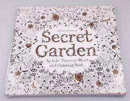 Wholesale 2015 Coloring Book high copy Secret Garden Adult Children Relax Graffiti Painting Book