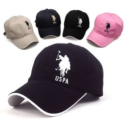 Wholesale big sale golf snapback baseball cap fitted polo hat for men women casquette polo gorras planas snapback hombre bone snap back