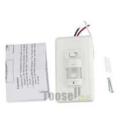 Wholesale Home LED light PIR Infrared Motion Sensor Wall Switch Human Induction Save Energy Motion Automatic Module Light Sensing Switch
