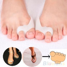 Wholesale 1Pair Silicone Shield Bunion Guards Pad Cushion Aid Toe Separators Pain Relieve MF1