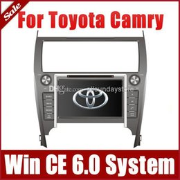 Wholesale 8 quot Car DVD Player for Toyota Camry European American with GPS Navigation Radio BT TV USB SD AUX G Auto Audio Video Stereo SatNav