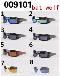 Wholesale 2016 hot sale summer men driving sun glasses Sports Eyewear women s goggle bat wolf Bicycle Glass Travel glasses A colors