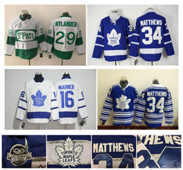 34 Auston Matthews Toronto Maple Leafs Jersey 16 Mitch Marner 29 William Nylande 44 Morgan Rielly Centennial Classic Cheap NHL Hockey Jersey
