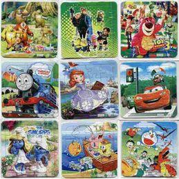 Wholesale Animated children s cartoon puzzle triple quality paper plane jigsaw puzzle unity Optional