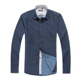 Wholesale New England Men S Fashion Wave Point Tide Men S Casual Long Sleeved Shirt Casual Dress Men Shirt Tommy
