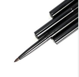 Wholesale Women Lady Beauty Makeup Eyeliner Waterproof Eye Liner Pencil Pen Make Up Cosmetic Cute Tool Automatic telescopic rotation