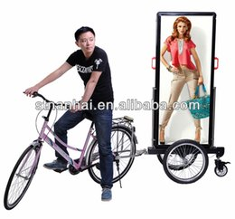 Wholesale BUY GET FREE J4B latest technology good look mobile led advertising bicycle
