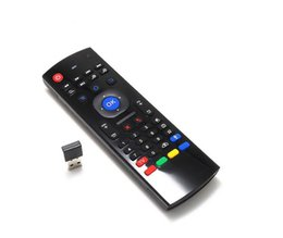 Wholesale X8 Ghz Wireless Keyboard MX3 D IR Learning Mode Fly Air Mouse Remote Control for XBMC Mini PC Android Smart TV Box