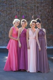 Newest Hot Convertible Bridesmaid Dresses Ruched Full Length Elastic Satin Dress 2015 Cheap On sale