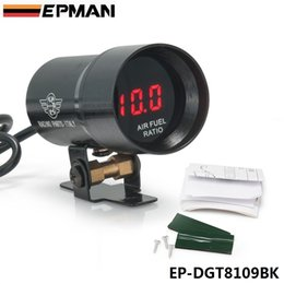 Wholesale EPMAN mm COMPACT MICRO DIGITAL SMOKED AIR FUEL RATIO GAUGE GAUGE UNIVERSAL CYLINDER ENGINES EP DGT8109