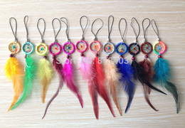 Wholesale Dream Catcher Whosale Mobile and Key Chains Dreamcatchers in mixed colors