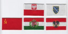 Wholesale different country flag embroidery patch iron on sew on velcro on Guaranteed quality Welcome custom M13248