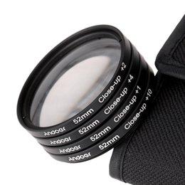 Cierre conjunto de filtro en Línea-Andoer 52 mm Macro Close-Up juego de Filtros+1 +2 +4 +10 con Bolsa para Nikon D7200 D5200 D3200 D3100 Canon, Sony, Pentax Dslr D1741