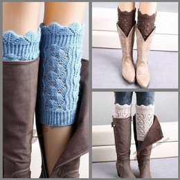 50pairs Women Boot cuff Knitted Leg Warmers short Foot socks boot cuff lady knit leg warmers Crochet Boot Cuff Christmas socks