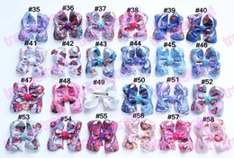 Wholesale Newests ABC hair bows Boutique hair bows girl hair bows clips aril hair bows DOC ALice hair bows Cinderella