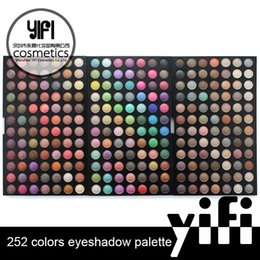 Wholesale For cosmetics manufacturers market eye shadow color eye shadow pearl matte Eye Shadow Palette