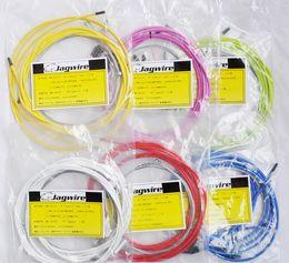 ligne pas cher de route de prix de commande de freins de vélo, jeux de câbles pour freins / VTT / pliants / engins fixes disque de vélo, beaucoup de couleur choisir à partir de vélo fil de câble de frein fabricateur