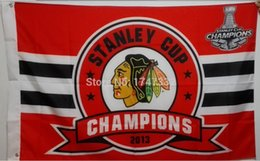 Chicago Blackhawks NHL National Hockey League National Champions Flag hot sell goods 3X5FT 150X90CM Banner brass metal holes