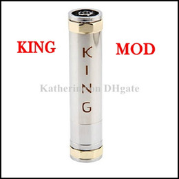 E Cigarette King MOD King Clone Mod Electronic Cigarette as Mechanical Panzer MOD Replace Stingray Mod Fit 18350 18500 18650 Battery Instock