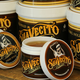 Free DHL Suavecito Pomade Strong style restoring Pomade Hair wax big skeleton hair slicked back oil wax mud keep hair men