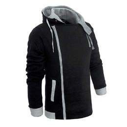 Men's Zipper Autumn & Winter Fashion Casual Slim Plus Sizes Cardigan Assassin Creed Hoodies Sweatshirt Outerwear Jackets Men Slim Pullover
