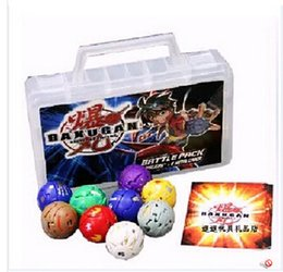 Wholesale Sega Bakugan battle brawlers toys children toys deformation stack of mail on the sale of units Box cards