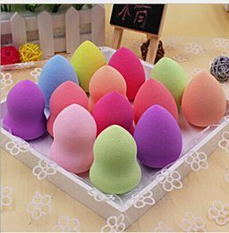 Wholesale Best Selling Color random gourd cotton sponge hold Beauty gourd eggs drop gourd cotton puff unique fragrance