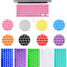 Wholesale Silicone Anti Dust Keyboard Rubber Skin Cover Protection For Apple MacBook Air Pro quot