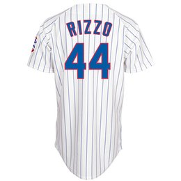 Wholesale Chicago Cubs Anthony Rizzo Home White Jersey Cheap Stitched Baseball Jerseys Authentic Baseball Cool base Jerseys