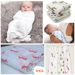 Wholesale 120x120cm Multifunctional Aden Anais Muslin Cotton Newborn Baby Bath Towel Swaddle bedding Blanket HX