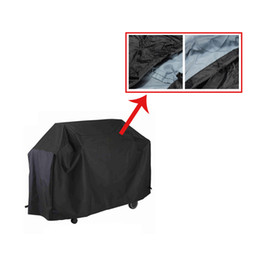 Wholesale Water resistant BBQ Cover Garden Patio Rainproof Dustproof Sunscreen Gas Barbecue Grill Protector cm H13809