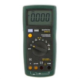 Wholesale MASTECH Auto Range Digital Multimeter DMM AC DC Voltmeter Ammeter Ohmmeter Capacitor Tester Megohmmeter Multimetro MS8215