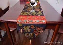 New Arrive Unique Chinese Style Vintage Cotton Linen Table Runners Decorative High Quality Long End Table Cloths Bed Runner L200
