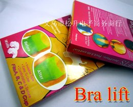 Wholesale New Retail Box Instant Breast Lift Beauty Breast Stickers Adhesive Bras Bra Stickers Lift Fits A B C D Cup pack