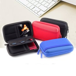 Wholesale Water resistance Hard Pouch Carrying Case Bag for inch Portable External Hard Drive HDD bag Protective case Digital accessories case bag