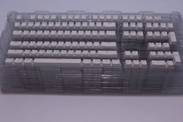 Wholesale Keycool ABS White Transparent Translucent Backlit keycaps Key caps Top printed For Cherry MX OEM Mechanical Keyboard