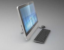 Wholesale integration computer inch Dual core Windows G G DVD ROM Silver High Definition ET215