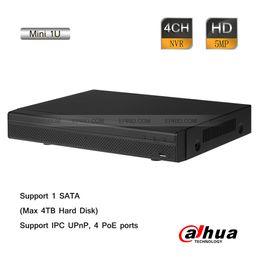 Wholesale Dahua CH Mini U NVR Mbps ONVIF P2P P MP Dual Codec PoE USB