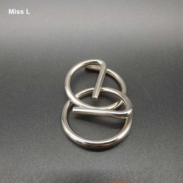 Letter E Metal Ring Puzzle Push Your Brain Toys Quality Of Workmanship Educational Prop Teaching Toy Gift