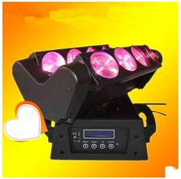 Wholesale 2PCS Pack LED effect stage light LED Moving Head Beam eyes Light W RGBW LED Spider Moving Head Light led spider effect stage light