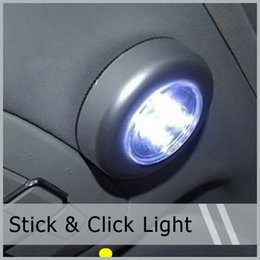 Wholesale 5 X Car LED Stick Cordless Tap Push Touch Car Night light Cabinet Lamp Dry Battery AAA By Post Air Mail order lt no track