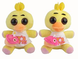 18cm Wholesale 2016 New Aiival Games plush Five Nights at Freddy's kids Soft Doll Rabbits  Duck toys for kids Gift 100pcs lot