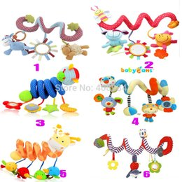 Wholesale Hot sale Stroller Car Seat Cot Lathe Hanging Baby play Travel Toys Newborn Baby Rattles Infant Toys