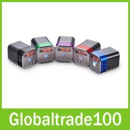 Wholesale Nizhi TT TT039 Portable Mini Crystal LCD Display Music MP3 Player Bluetooth Wireless Spearker Support FM TF Card